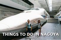Railway Park, Toyota Museum, and Nagoya TV Tower