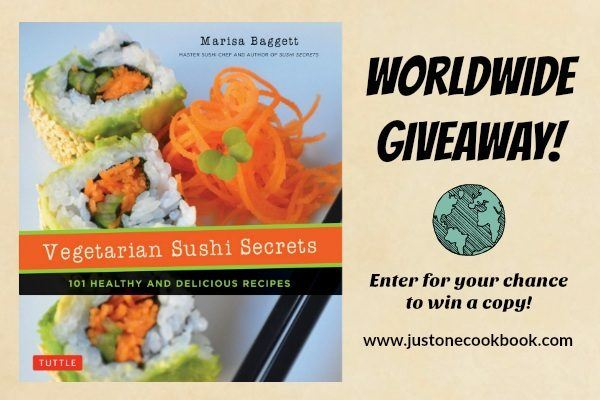 Vegetarian Sushi Secrets Cookbook Giveaway