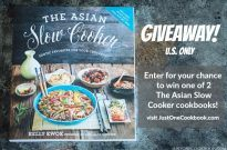 The Asian Slow Cooker Cookbook Giveaway (U.S. Only) (Closed)