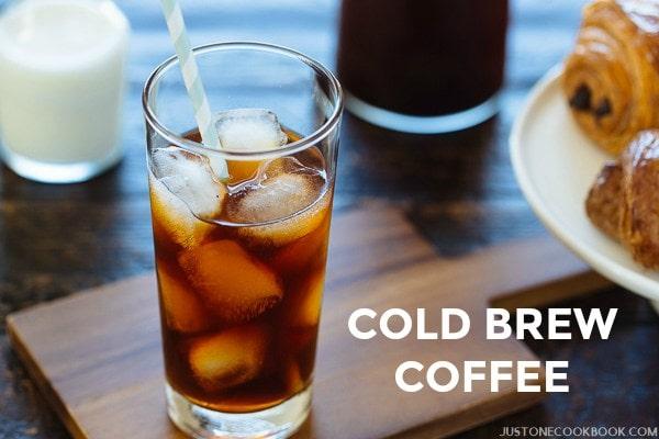 Cold Brew Coffee   Easy Japanese Recipes at JustOneCookbook.com