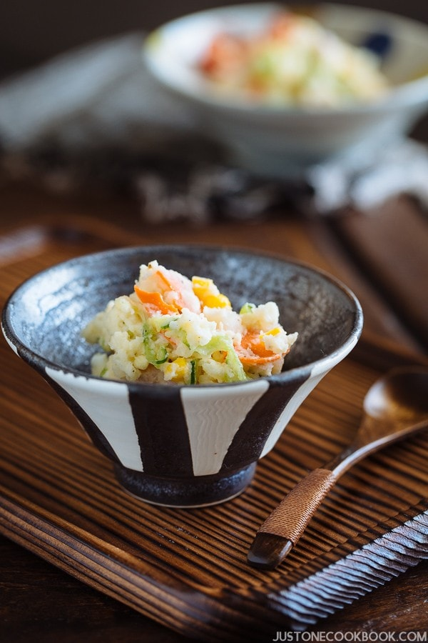 Pressure Cooker Potato Salad | Easy Japanese Recipes at JustOneCookbook.com