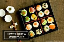 A Guide to Host a Sushi Party
