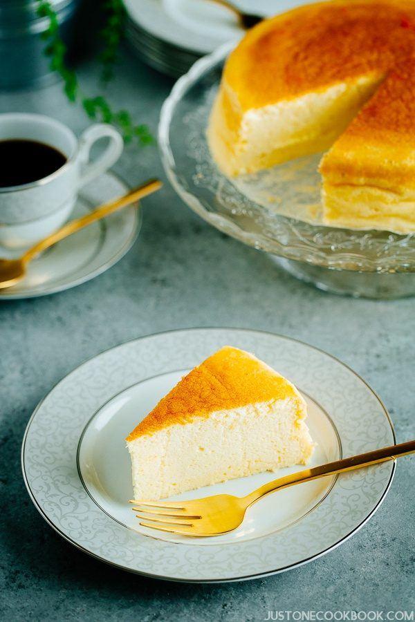 Japanese Cheesecake (スフレチーズケーキ)   Easy Japanese Recipes at JustOneCookbook.com