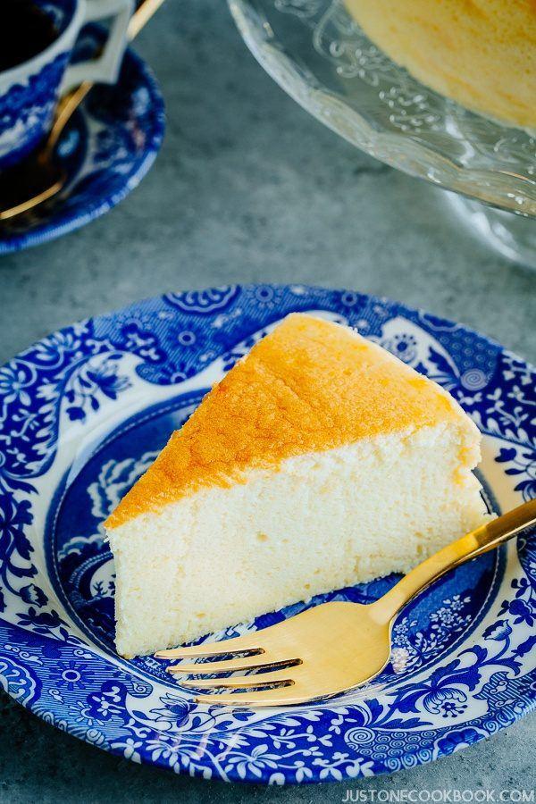 Japanese Cheesecake スフレチーズケーキ Just One Cookbook