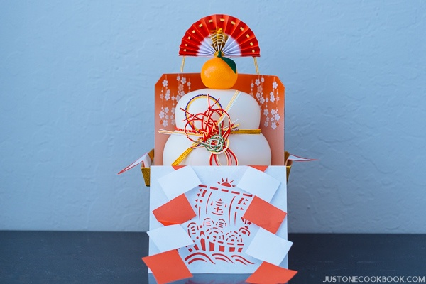Kagami Mochi | Easy Japanese Recipes at JustOneCookbook.com