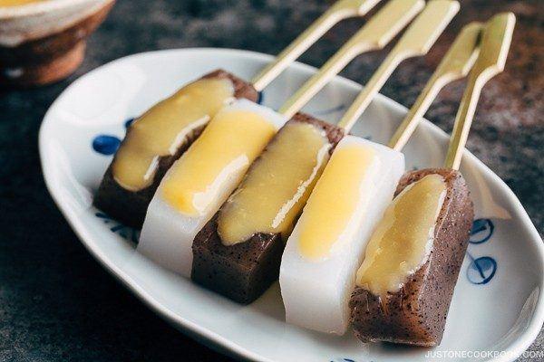 Miso Dengaku - Konnyaku (こんにゃくの味噌田楽) | Easy Japanese Recipes at JustOneCookbook.com