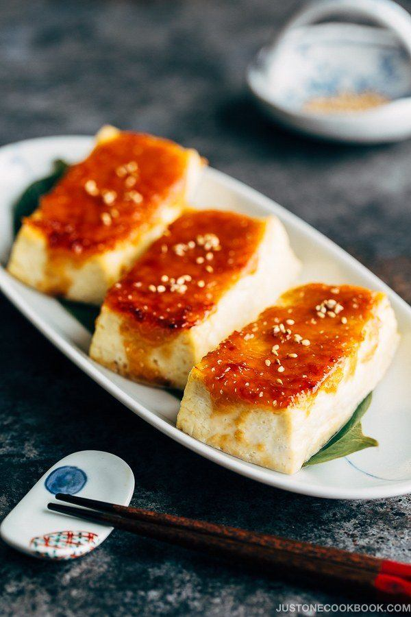 Miso Dengaku - Tofu (豆腐の味噌田楽) | Easy Japanese Recipes at JustOneCookbook.com