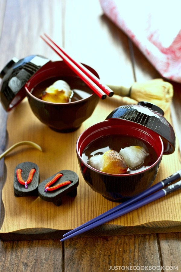 Zenzai (Japanese Sweet Red Bean Soup) | Easy Japanese Recipes at JustOneCookbook.com