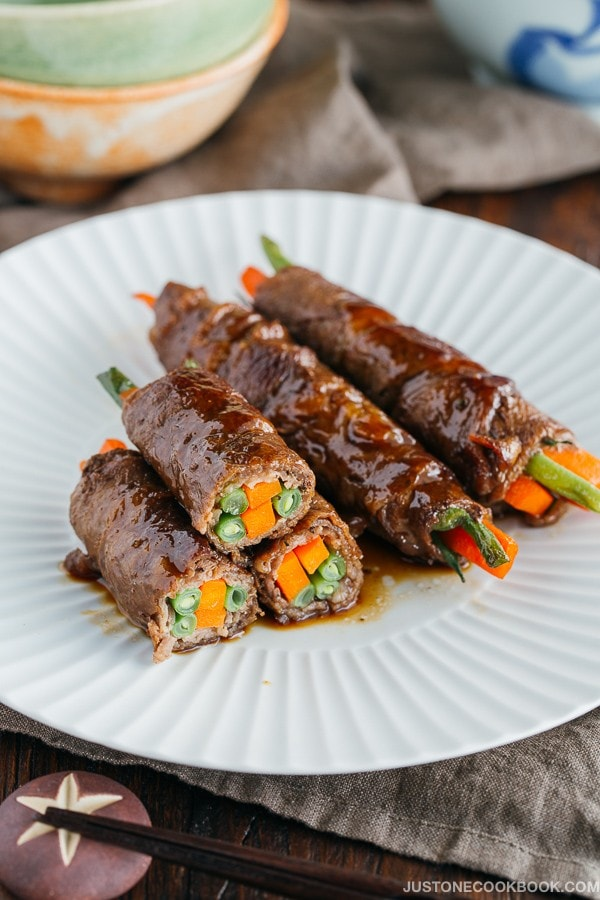 Teriyaki Steak Rolls ???????