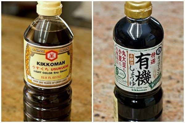 Usukuchi vs. Koikuchi Soy Sauce
