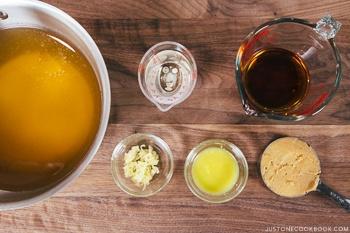Chanko Nabe Ingredients 1