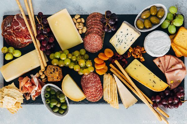 How To Make a Cheese Board Step 5 | JustOneCookbook.com
