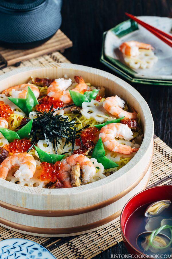 Chirashi Sushi 五目ちらし寿司 | Easy Japanese Recipes at JustOneCookbook.com