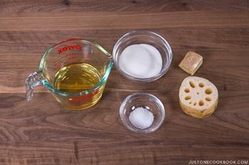 Chirashi Sushi Ingredients 1
