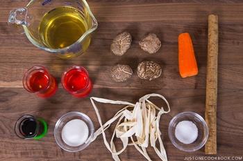 Chirashi Sushi Ingredients 2