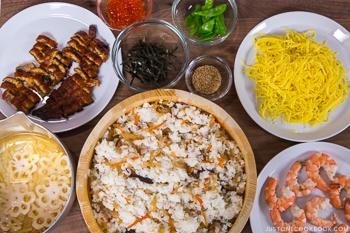 Chirashi Sushi Ingredients 5