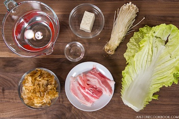 Hot Pot for One Ingredients
