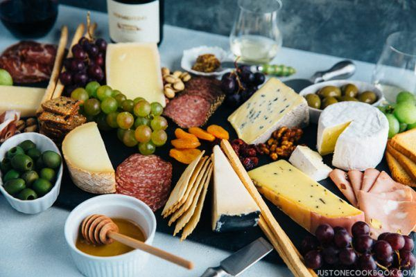 How To Make a Cheese Board | JustOneCookbook.com