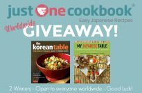 My Japanese Table & The Korean Table Cookbook Giveaway (Worldwide)