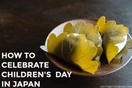 How To Celebrate Children's Day in Japan | Easy Japanese Recipes at JustOneCookbook.com