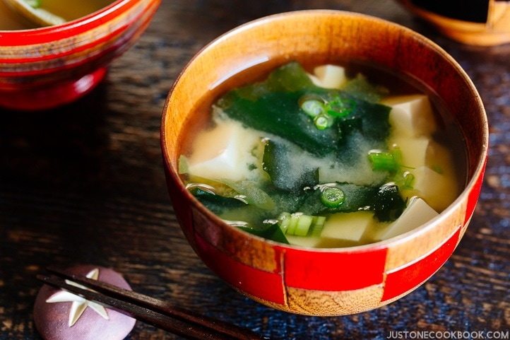 Homemade Miso Soup Just One Cookbook