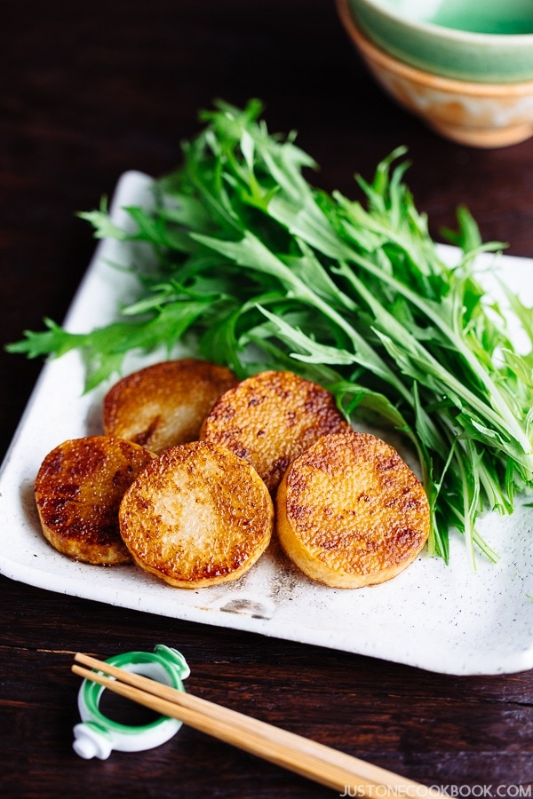 Sauteed Yam (長芋のソテー) from Midnight Diner | Easy Japanese Recipes at JustOneCookbook.com