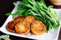 Sautéed Yam (長芋のソテー) from Midnight Diner | Easy Japanese Recipes at JustOneCookbook.com
