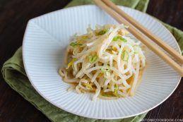 Bean Sprout Salad もやしのナムル | Easy Japanese Recipes at JustOneCookbook.com