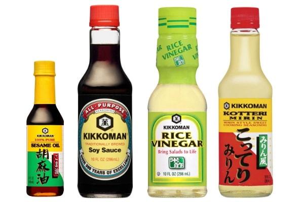 Kikkoman Condiment Set w600