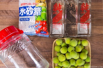 Plum Wine Ingredients
