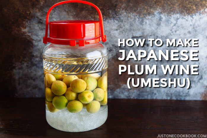Plum Wine (Umeshu) 梅酒   Easy Japanese Recipes at JustOneCookbook.com