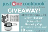 Indigo True Measuring Cups Giveaway (US Only) (Closed)