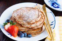 Red Bean Pancake 餡入りパンケーキ | Easy Japanese Recipes at JustOneCookbook.com