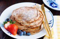 Red Bean Pancakes 餡入りホットケーキ