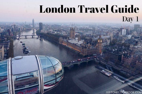 London Travel Guide Day 1