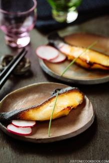 Miso Cod (Black Cod with Miso) 銀ダラ西京焼き | Easy Japanese Recipes at JustOneCookbook.com