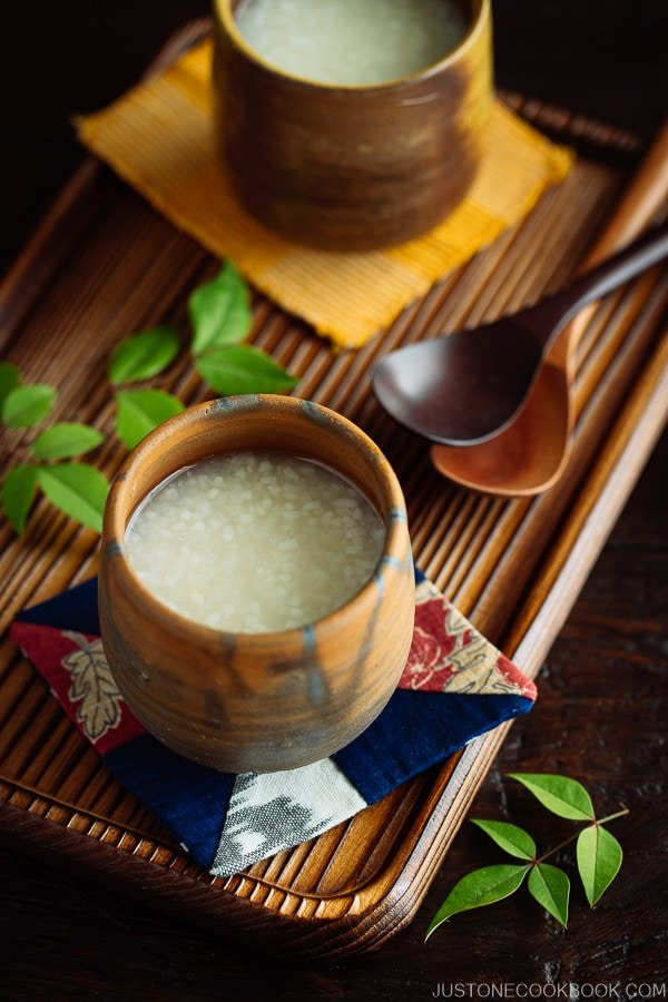 Amazake (Fermented Japanese Rice Drink) ??