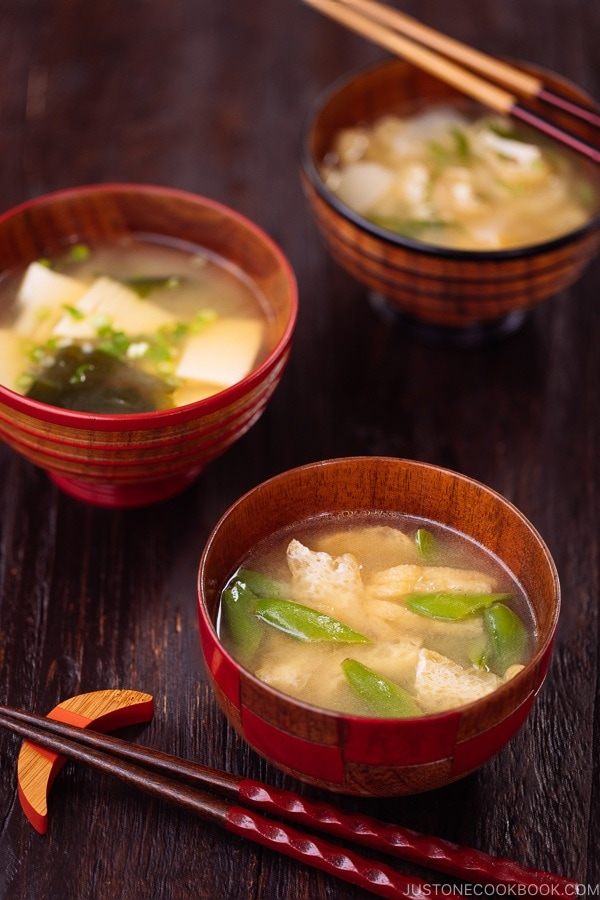 Vegetable Miso Soup ???????