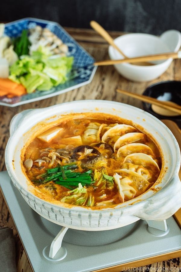 Kimchi Gyoza Nabe (Hot Pot) ??????