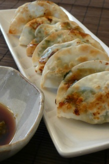 Chicken and Shiso Gyoza with Yuzu Kosho Ponzu Sauce | JustOneCookbook.com