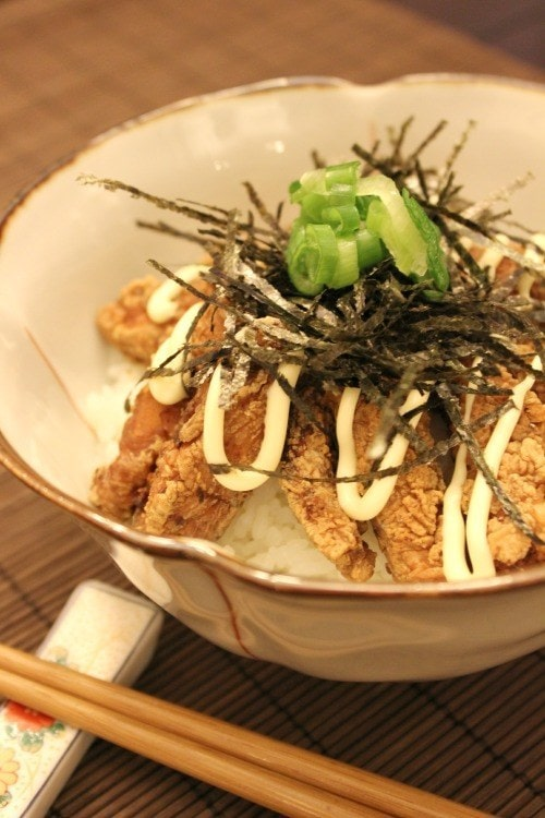 Chinese Style Karaage Don