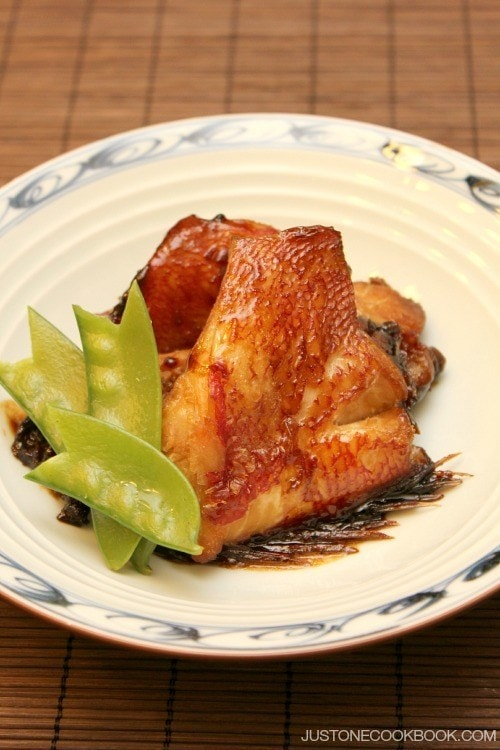 Braised Alfonsino (Kinmedai Nitsuke) | Easy Japanese Recipes at JustOneCookbook.com