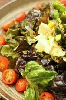 Tofu Salad with Sesame Ponzu Dressing | Easy Japanese Recipes at JustOneCookbook.com