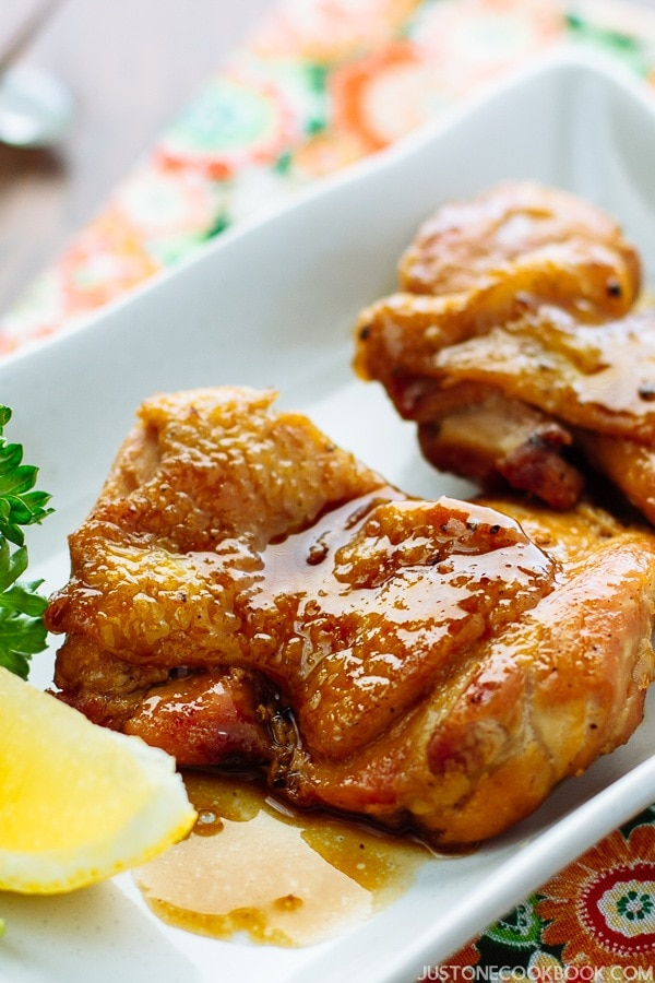 Butter Shoyu Chicken バター醤油チキン| Easy Japanese Recipes at JustOneCookbook.com