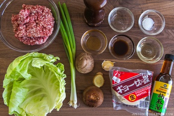 Gyoza Ingredients