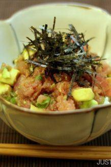 Negitoro & Avocado Donburi | Easy Japanese Recipes at JustOneCookbook.com