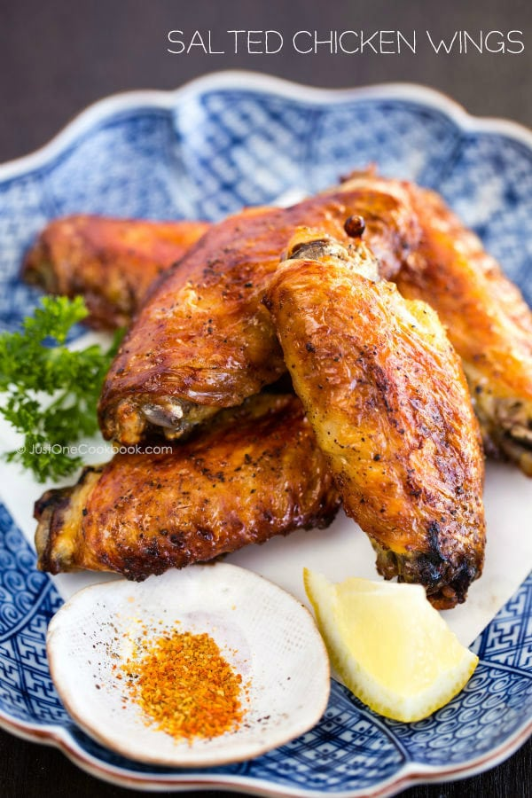 Teba shio salted chicken wings just one cookbook japanese salted chicken wings teba shio easy japanese recipes at justonecookbook forumfinder Choice Image