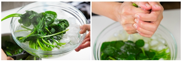 Spinach Gomaae 4