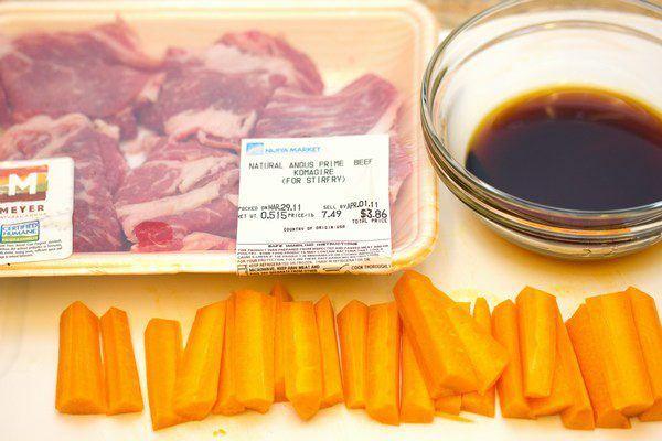 Baby Carrot Beef Rolls 1