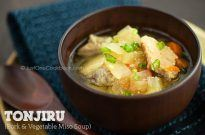Tonjiru (Pork & Vegetable Miso Soup) | Easy Japanese Recipes at JustOneCookbook.com